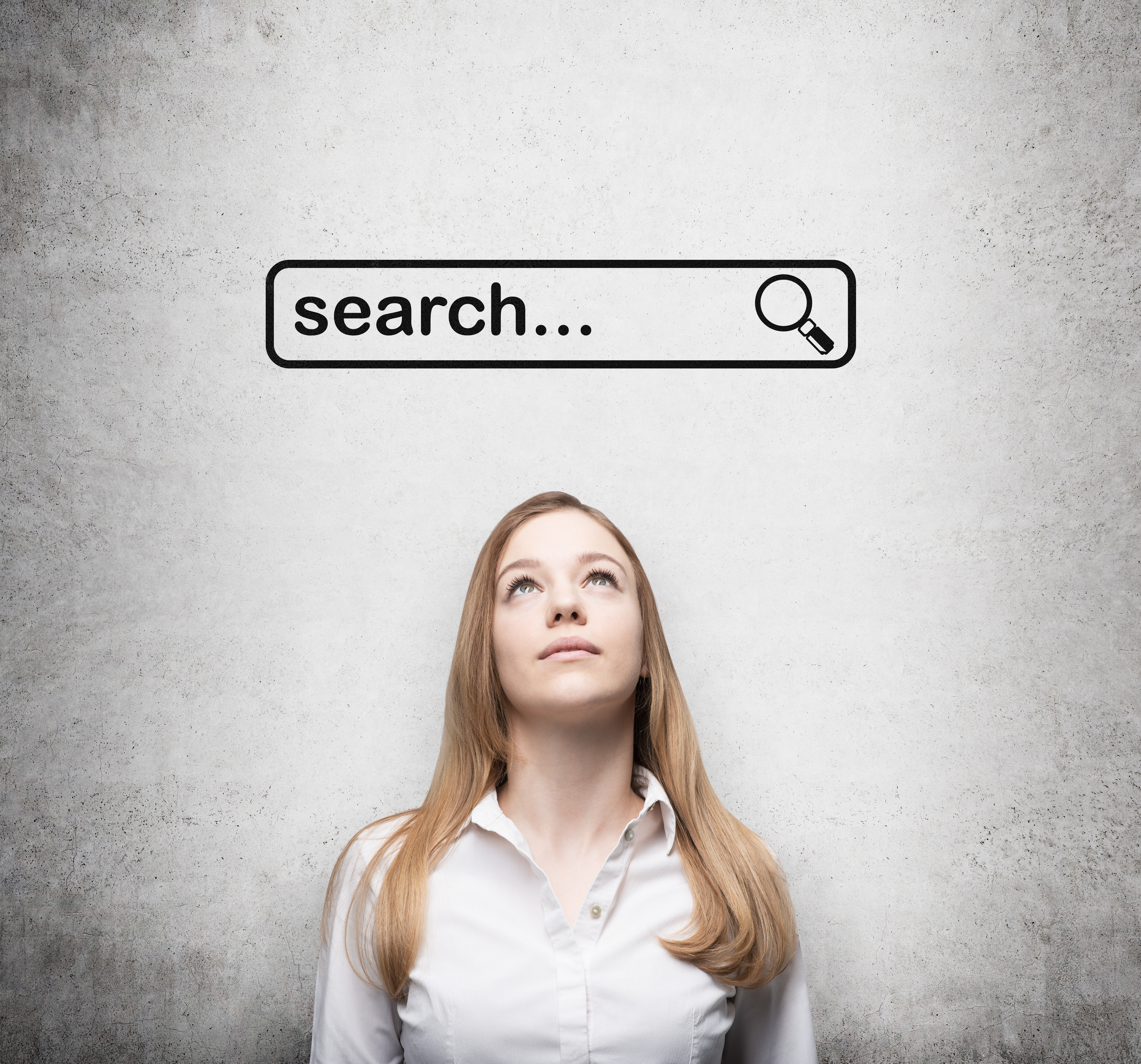 RoboWP - Global SEO Agency - Woman Searching